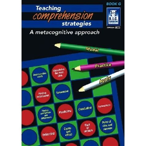 Metacognitive stategies and comprehension literature review
